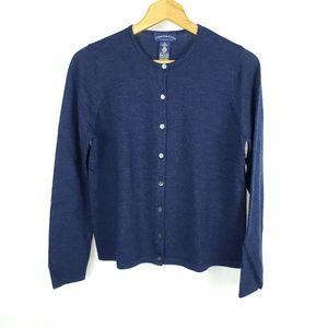 Charter Club 100% Merino Wool Woolmark Cardigan